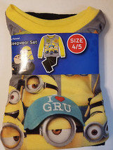 Despicable Me3 Boys Two Piece Pajama Set Size 6/7  10/12 NWT - $11.04
