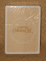 Longaberger 6 DECKS Playing Cards Collectors Club Standard Deck New Grea... - $16.78