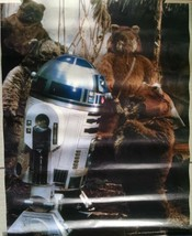 """Star Wars - R2D2 1983 Lucasfilm Collectible Poster 21-3/4"""" x 17"""" - $9.89"""