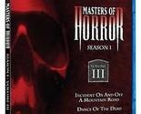 Masters of Horror Season 1 Vol. 3 Vol III BRAND NEW * SEALED 1080i RARE NIB OOP