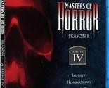 Masters of Horror Season 1 Vol. 4 Vol IV Brand New * Sealed 1080i RARE NIB OOP