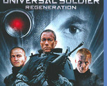 UNIVERSAL SOLDIER REGENERATION Blu-ray DVD VAN DAMME Blu Ray Disc Like New