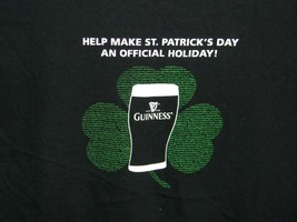 GUINNESS BEER PROPOSITION 317 ST PATRICKS DAY HOLIDAY MEN'S T SHIRT LARGE - $18.76