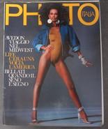 PHOTO ITALIA Magazine Iman Richard Avedon Kennedy May 1986 - $19.90