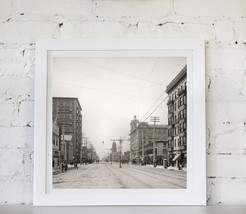 Atlantic City 1900's - Photograph in Sepia - Home wall decor - size: 40 ... - $86.00