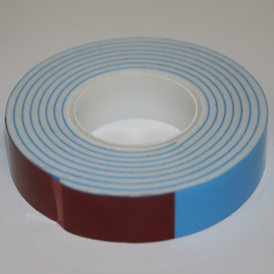 "Primary image for White 1/16"" x 1/2"" Foam Mounting Tape"