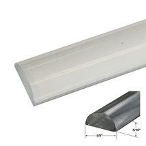 "5/8"" Clear Acrylic Frameless Shower Threshold - 35 in long - $15.95"
