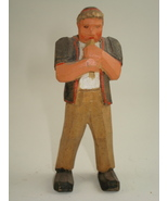 hand carved tiny man-possible Anri - $80.00