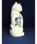 Baum Brothers Formalities Blue Floral Kitty Cat!  - $7.99
