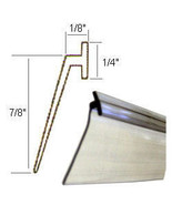 "Angled Clear Vinyl Framed Shower Door Drip Sweep - 36"" long - $9.95"