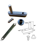 """Framed Swing Shower Door Pivot Block with 3/4"""" Pin and Adjustment Wrench... - $22.95"""