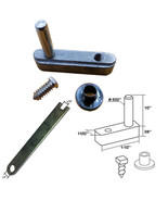 "Framed Swing Shower Door Pivot Block with 1/2"" Pin and Adjustment Wrench... - $22.95"