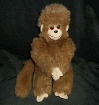 "11"" Vintage 1993 Ty Classic Rascal Brown Monkey Stuffed Animal Plush Toy Lovey - $28.05"