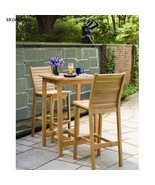 Bars, Patio Furniture, Dartmoor 3 Piece Bar Dining Set by Oxford Garden - $1,469.02