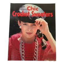 Book Chic Crochet Sweaters  35 Sweater Patterns 1986 - $10.69