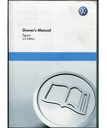 2011 VW TIGUAN S Owners Manual, VOLKSWAGEN Owners Manual -Used Slightly - $44.99