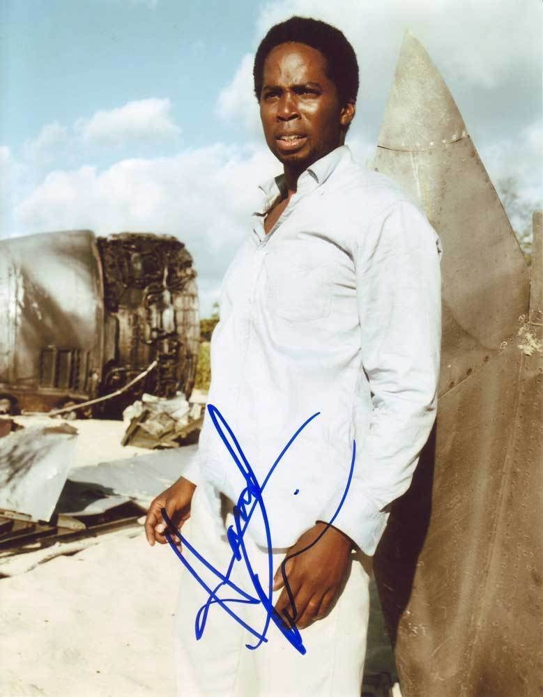 Primary image for Harold Perrineau Jr. AUTHENTIC Autographed Photo COA SHA #76177