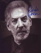 Donald Sutherland Authentic Autographed Photo Coa Sha #28037 - $60.00