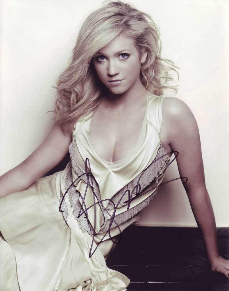 Brittany Snow AUTHENTIC Autographed Photo COA SHA #36648 - $65.00