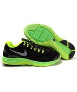 Nike lunarglide+ 4 OG men's guys  black/green running shoes sneakers NEW... - $64.99
