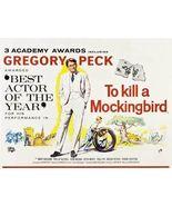 TO KILL A MOCKINGBIRD POSTER 30x40 Gregory Peck Mary Badham Rare  - $34.99