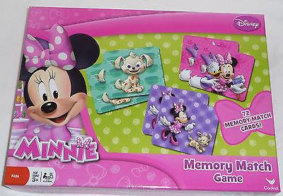 Disney Minnie Mouse Bowtique Memory Match Game