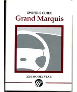 2001 Mercury Grand Marquis Owners Manual, FORD Owners Manual -Used Slightly - $19.99