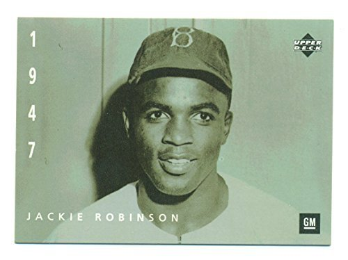 1994 Upper Deck Jackie Robinson HOF #7 - Los Angeles Dodgers Brooklyn Dodgers -