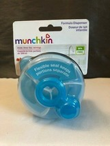 Munchkin Formula Dispenser BLUE PA Free Holds 3 - 9oz. Servings Travel To Go NEW - $8.50