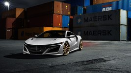 2017 Acura nsx gt3 port 24X36 inch poster, sports car - $18.99