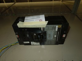 Square D LAL36200 Circuit Breaker 200A 3P 600V AC 250V DC W/ Aux Switch Used  - $900.00
