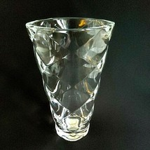 RIEDEL VIVANT Crystal Balloon Diamond Quilted Vase Height: 8 in - Signed - $33.24