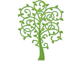 Spellbinders D-Lites Whimsical Tree Die #S2-008