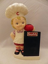 Campbell's Soup kid - coin bank with Menu Blackboard - 11 1/2 inches, 20... - $16.34
