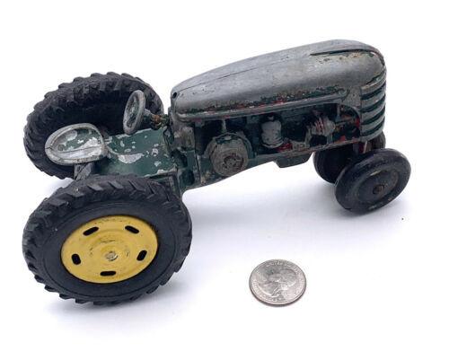 VINTAGE Die CAST MASSEY-HARRIS FARM TRACTOR TOY HUBLEY ARCADE SLIK MODEL - $74.25