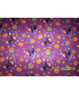 New Angry Birds Halloween Spooky Birds on Purple 100% Cotton Fabric by t... - $6.93