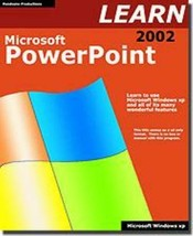 Learn Microsoft Power Point 2002 CD-ROM For Windows - New Cd In Sleeve - $7.98