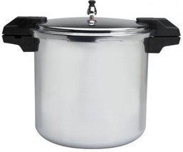 Mirro 92122A Polished Aluminum 5 / 10 / 15-PSI Pressure Cooker / Canner ... - $90.04