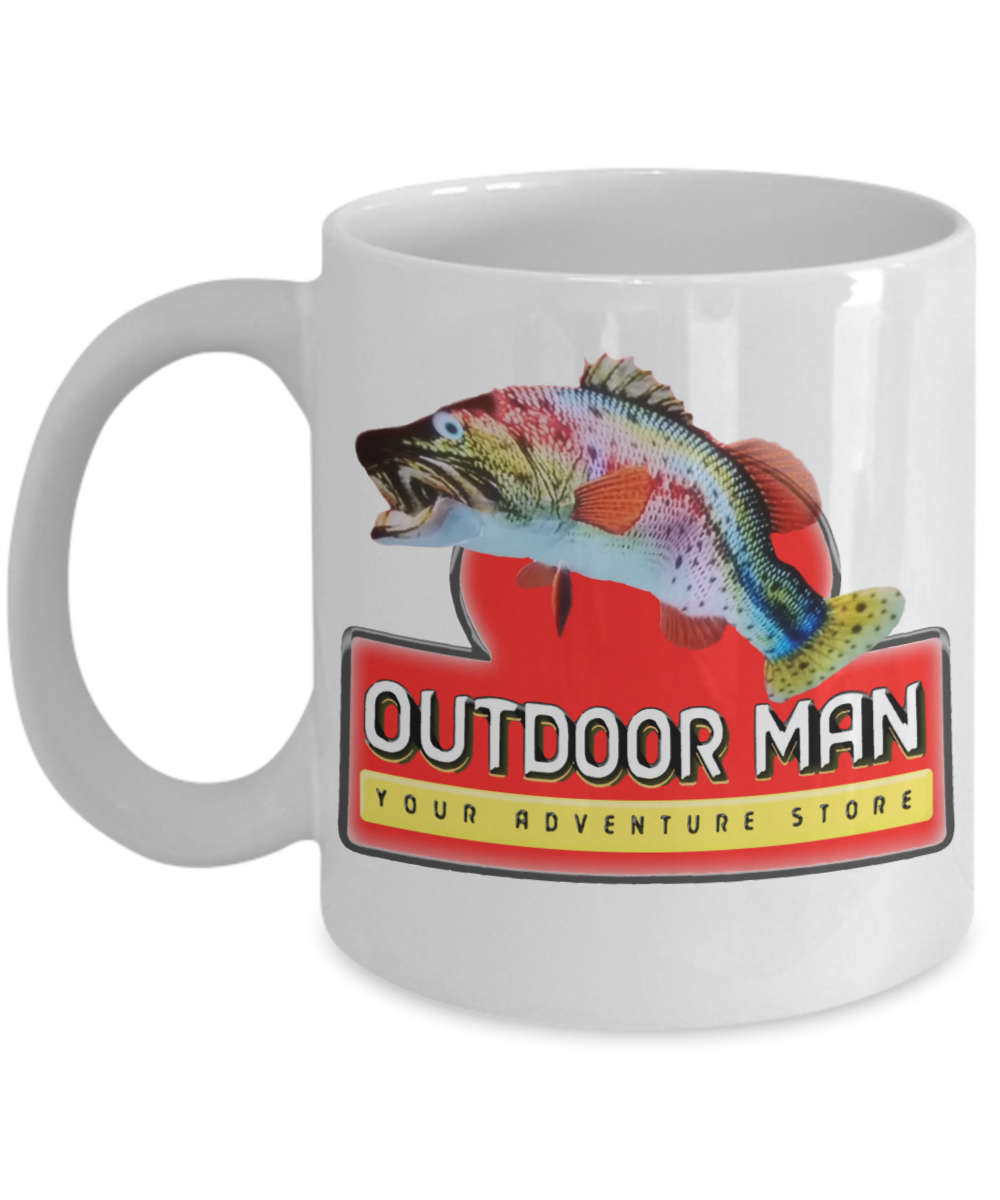 Primary image for Outdoor Man Your Adventure Store Breakroom Inspired Coffee Mug