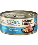 Wellness CORE Natural Grain Free Hearty Cuts Chicken and Tuna Canned Cat... - $22.28
