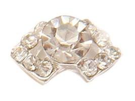 20 PCS Attactive Diamond Type For Nail Art Decoration, White