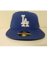 New Era 59Fifty MLB LA Dodgers Mens Fitted Size 6 7/8 Cap Made in USA Blue - $24.72