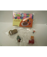NEW Re-ment 3:00 O'Clock Afternoon Tea 3 Miniature Mini Food 2004 US Seller - $15.00