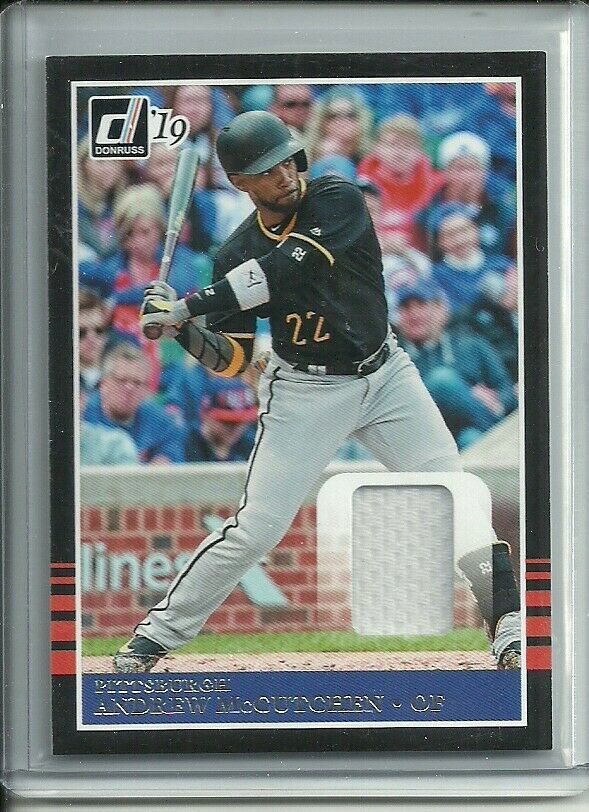 2019 DONRUSS ANDREW McCUTCHEN JERSEY PIRATES FREE SHIPPING