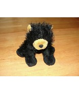 Vintage Webkinz Black Bear HM004 no codes - $3.36