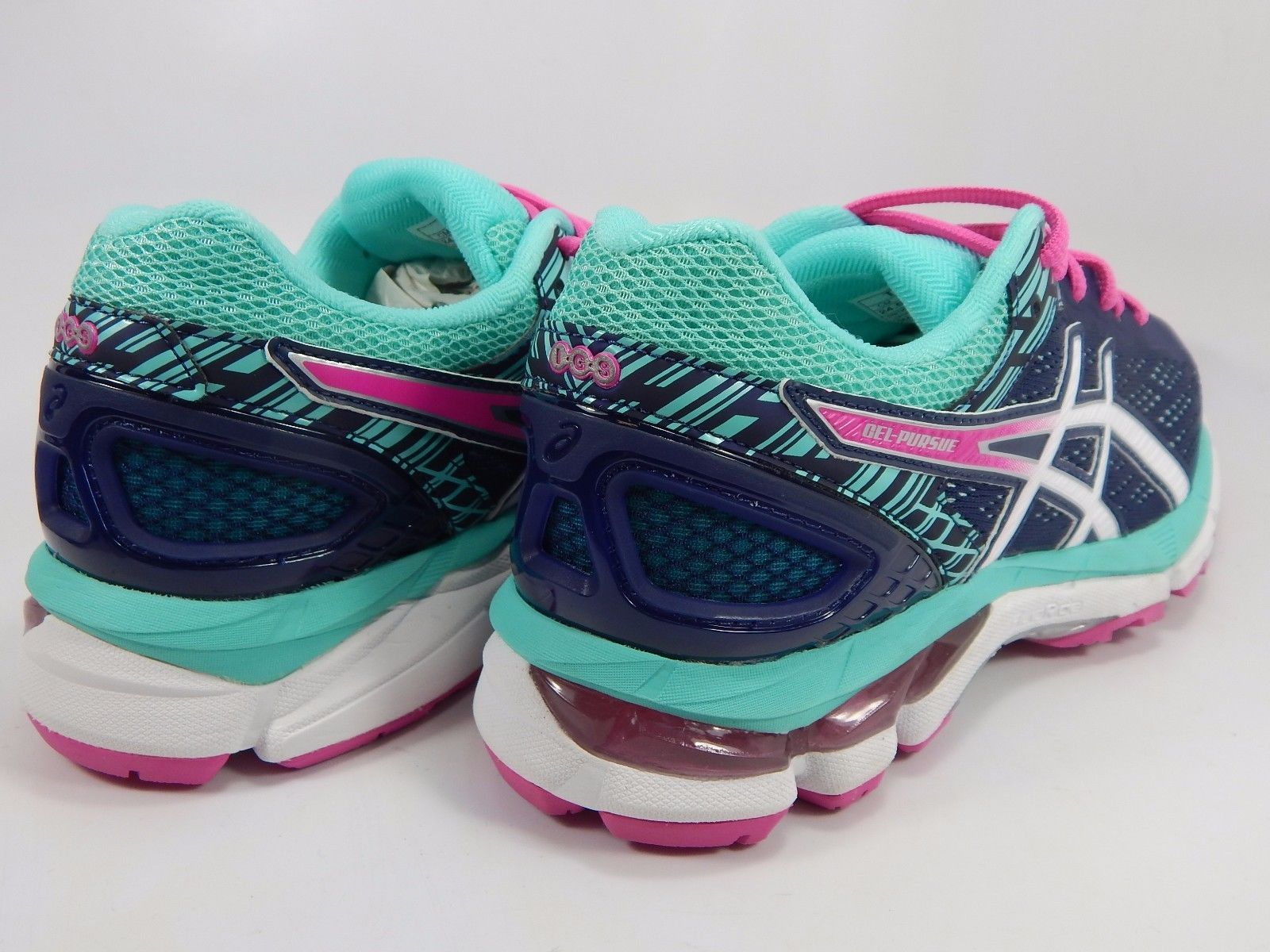 Asics Gel Pursue 3Women's Running Shoes Size US 7.5 M (B) EU 39 Blue Pink  T6C5N