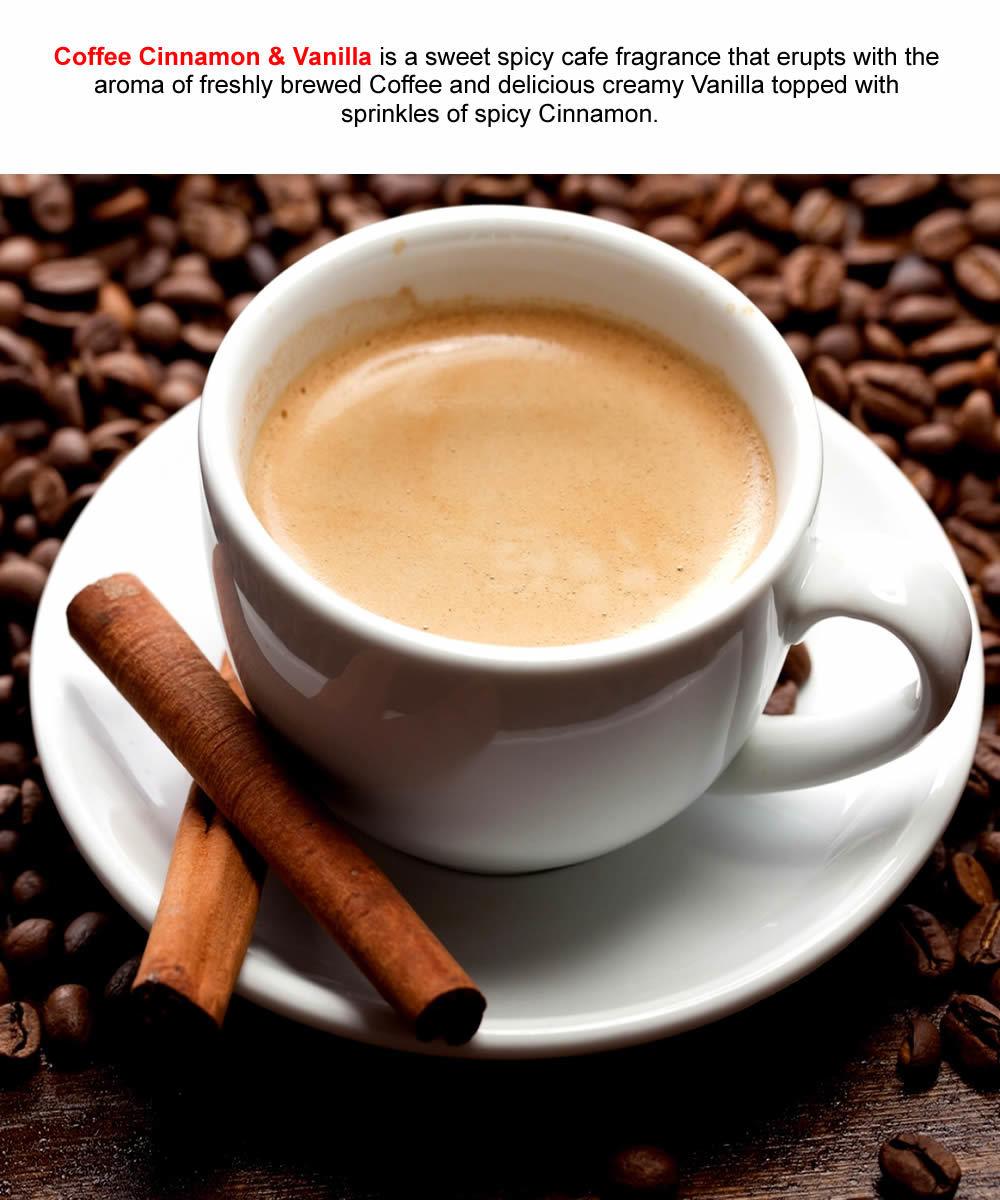 COFFEE CINNAMON & VANILLA Roll On Fragrance Oil VEGAN & CRUELTY FREE image 2