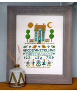 Bunnies In The Garden cross stitch chart Tiny Modernist Inc - $9.00