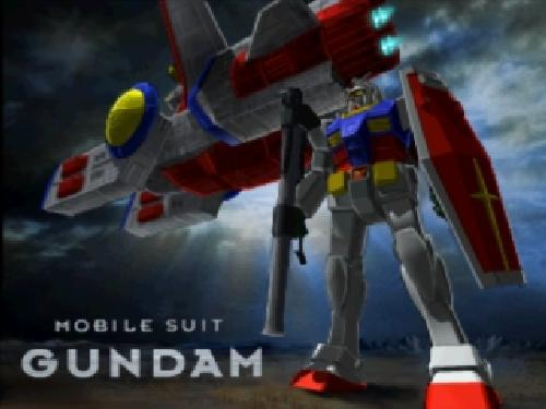 Mobile Suit Gundam v1, Sony Playstation One PS1, Import Japan Game