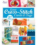 Easy Cross Stitch Cards and Tags  cross stitch chart Annie's Publications - $11.70